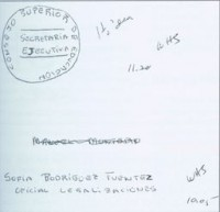 Попытки размещения заказов на изготовление мексиканских официальных печатей.